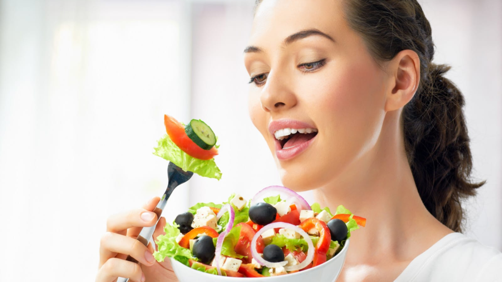 Be a healthy eater