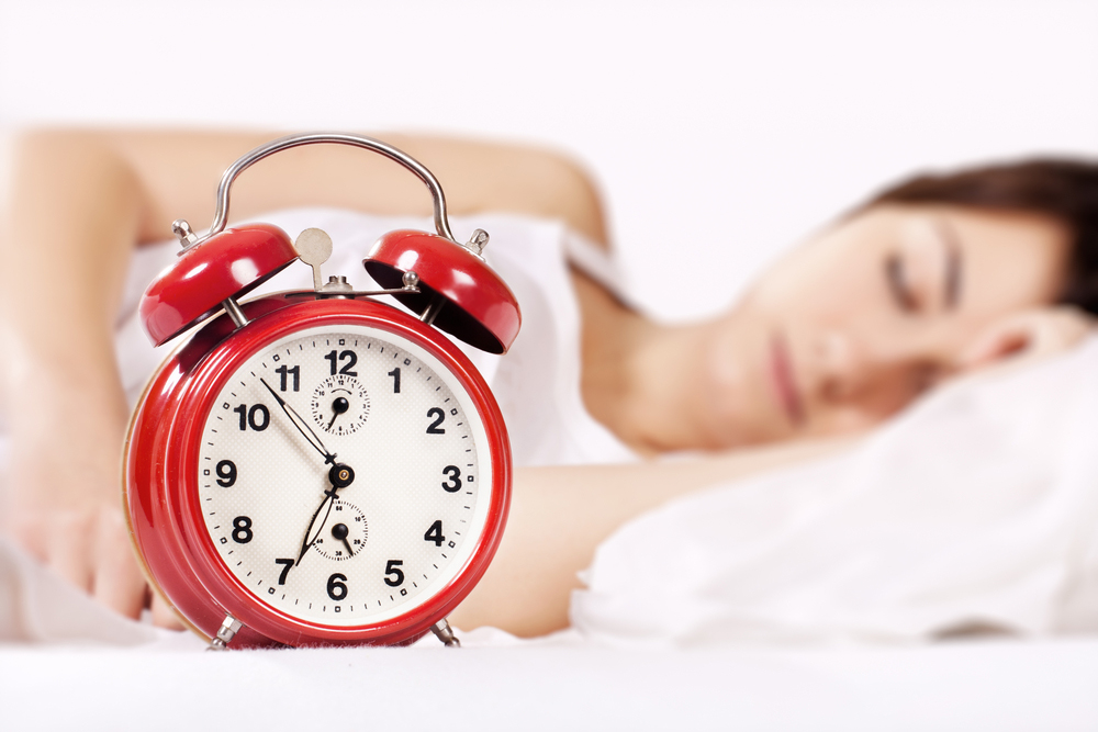 Sleep at least 8 hours a day