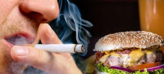 Avoid fast food, smoking and alcohol