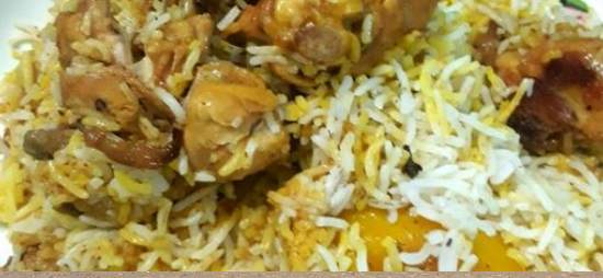 Boiled chicken/mutton