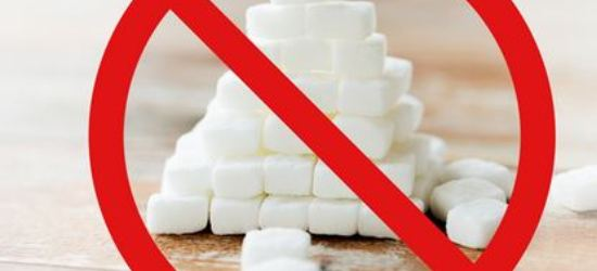 Cut sugar from your life